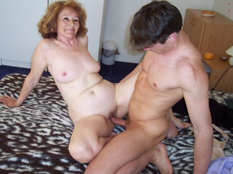 Woman on top position big tits