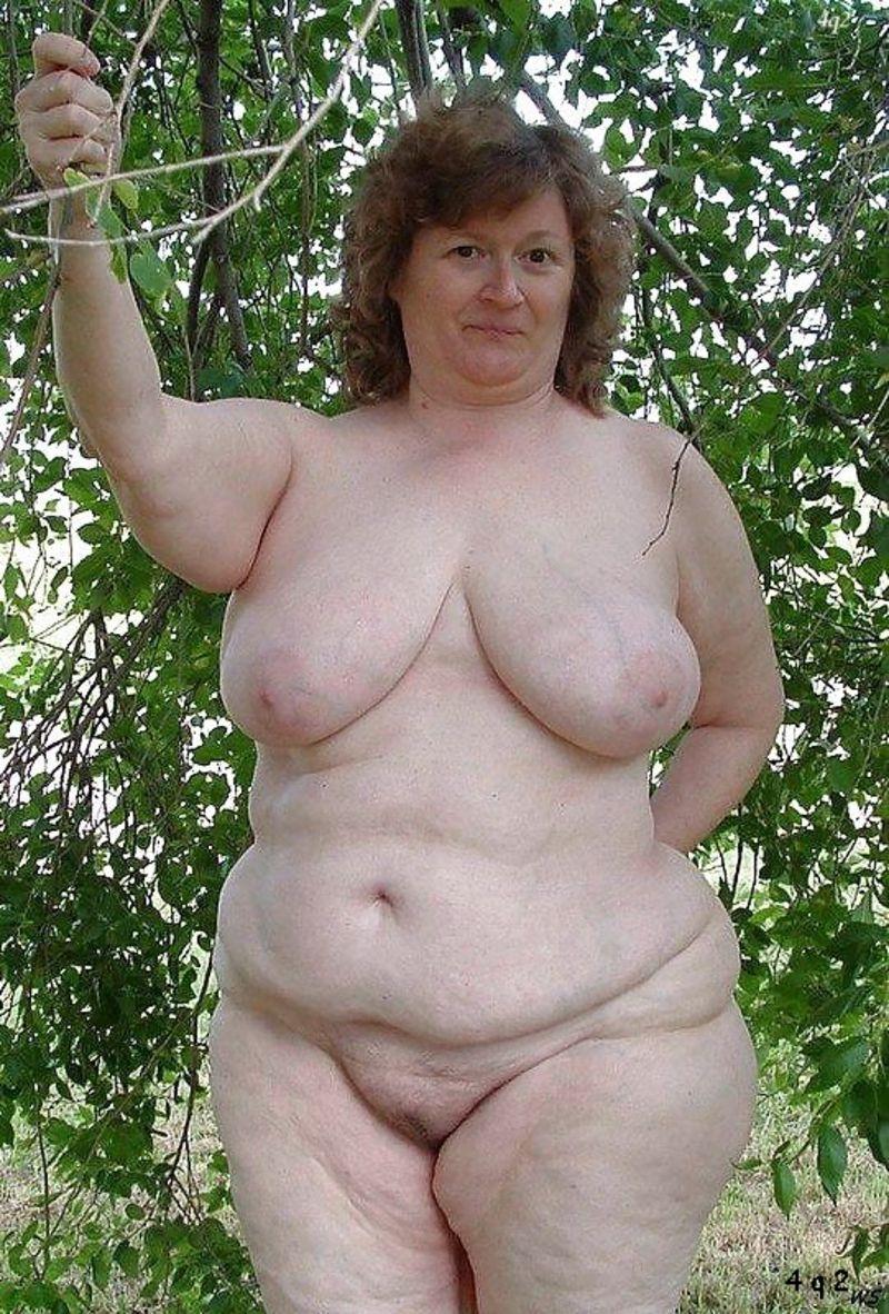 фото старых голых очень толстых женщин понимают тебя