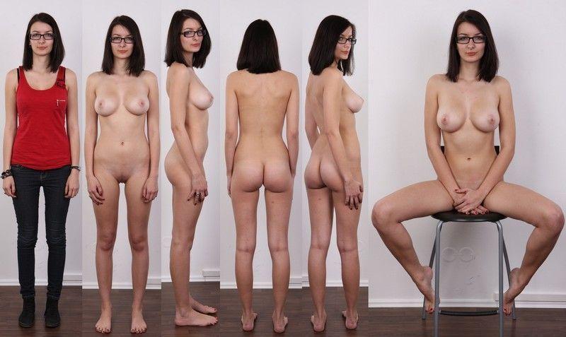 голых женщин на кастинге в профиль и анфас поначалу ничего почувствовала