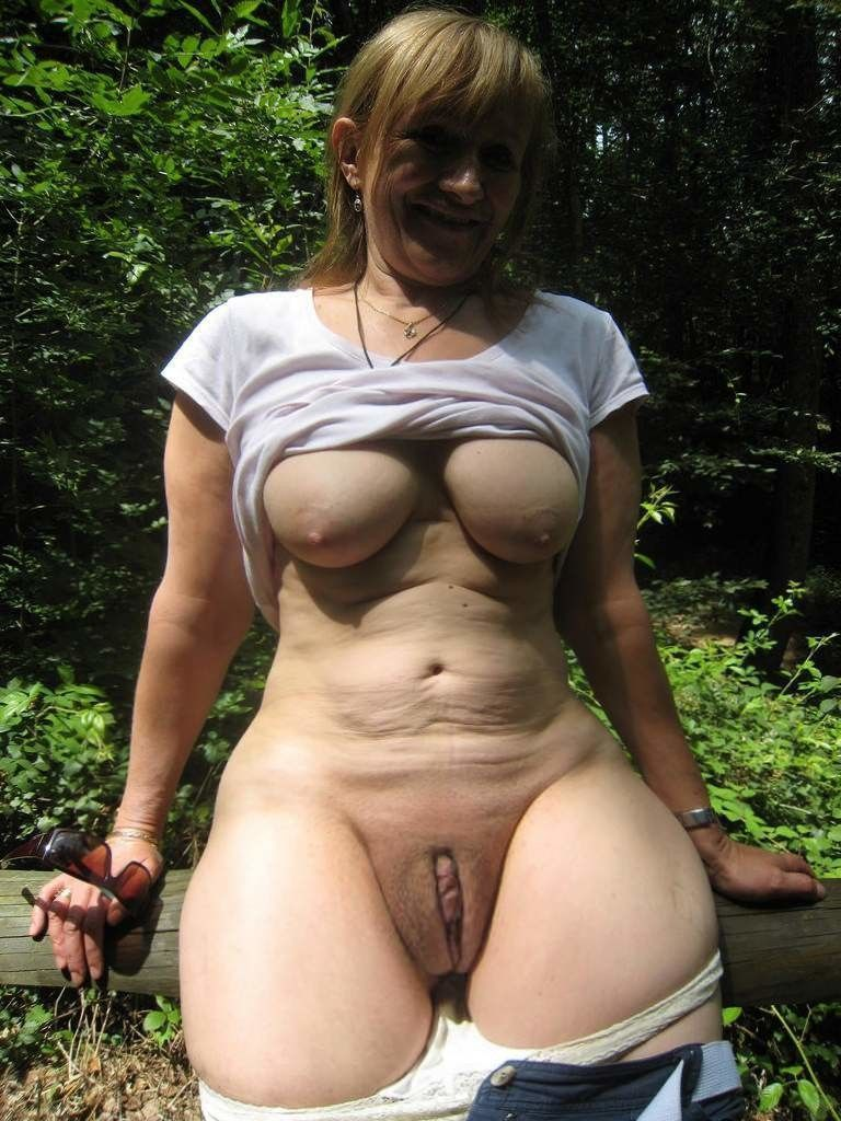 Nude mature wife self shots