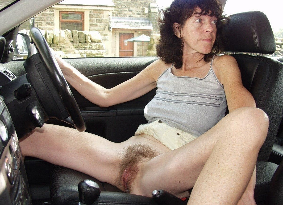 from Haiden nudehairy pussy in car