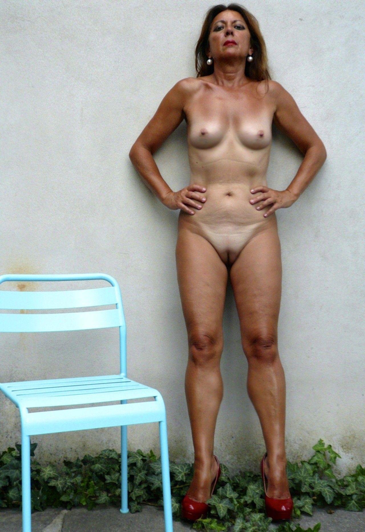 Une mamie sexy qui donne envie ! Femme mature et